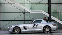Mercedes-Benz SLS AMG GT F1 Safety Car receives power boost and other updates