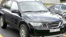 2010 Saab 9-4x Test Mule