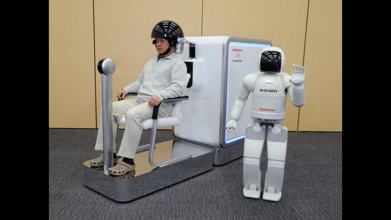 Honda Brain Machine Interface (BMI) technology