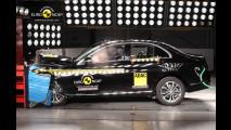 Mercedes Classe C, punteggio pieno nei Crash Test EuroNCAP