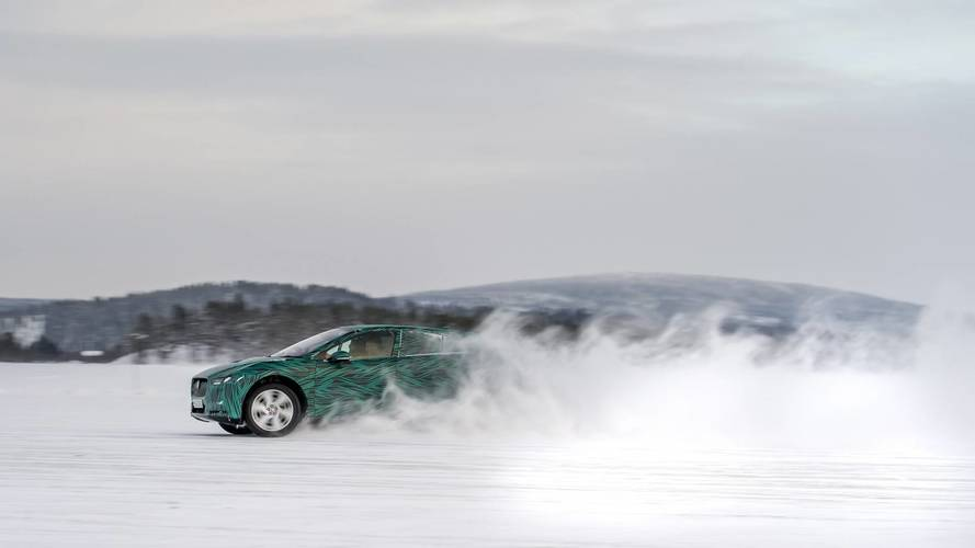 Jaguar I-Pace essai hivernal