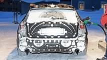 2019 Volvo V60 spy photo