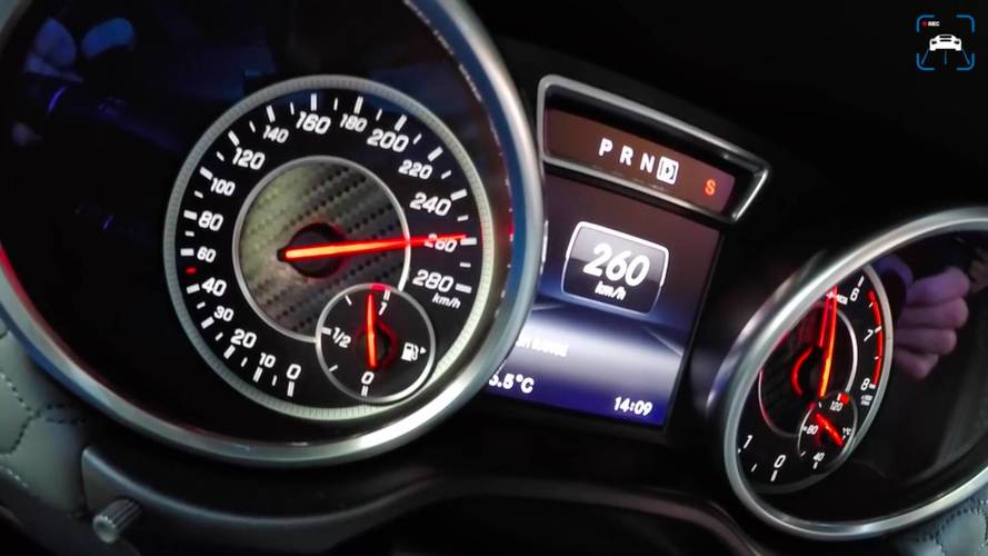 1.000 beygirlik Mercedes-AMG G63'ün hızlanmasını izleyin