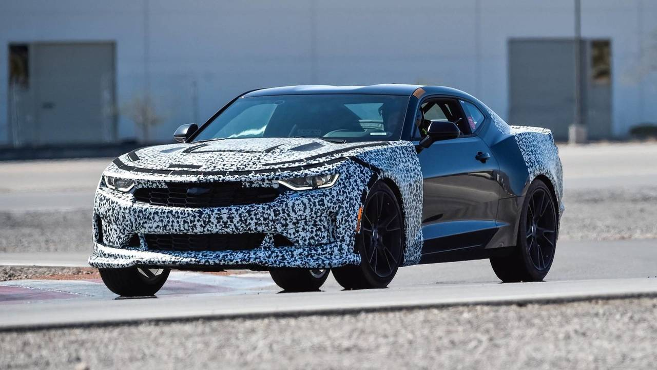 2019 Chevy Camaro Turbo 1le Prototype First Drive Entry
