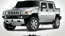 Hummer H2 Silver Ice edition