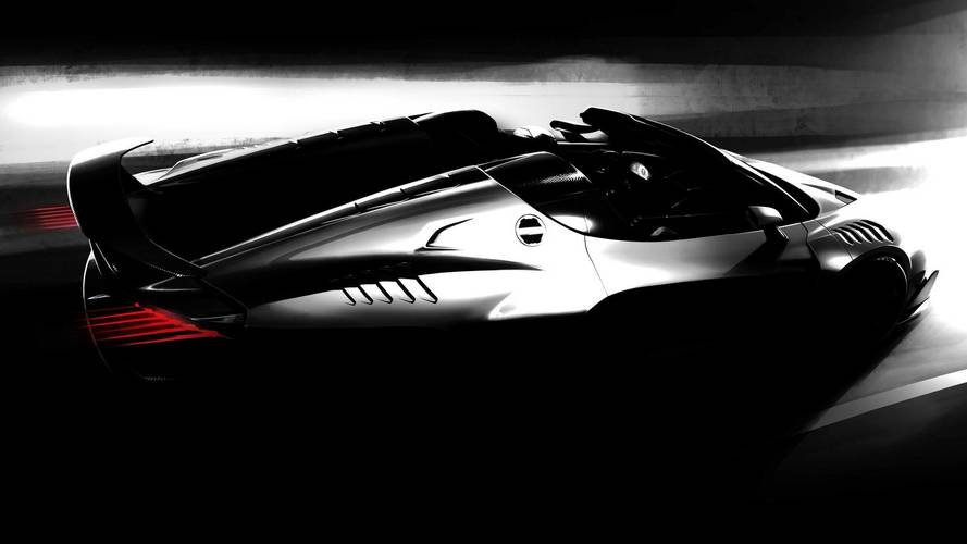 Italdesign Zerouno Roadster Teaser