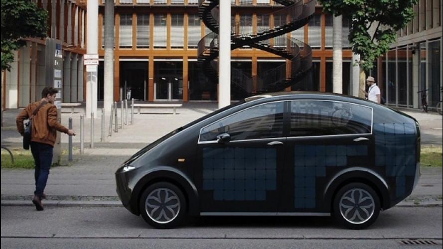 SonoMotors Sion, la prima auto solare di serie al mondo