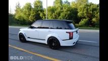 Lumma Design Range Rover CLR R Fuji White