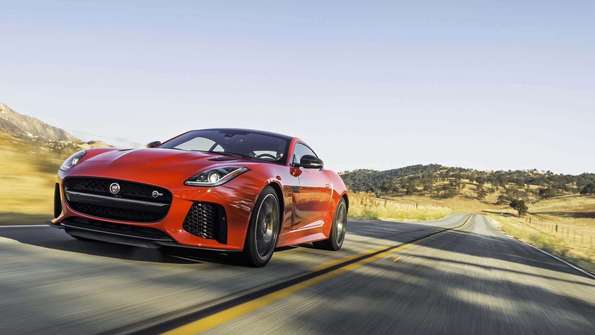 Enterprise Will Now Rent You A 200 MPH Jaguar F Type SVR