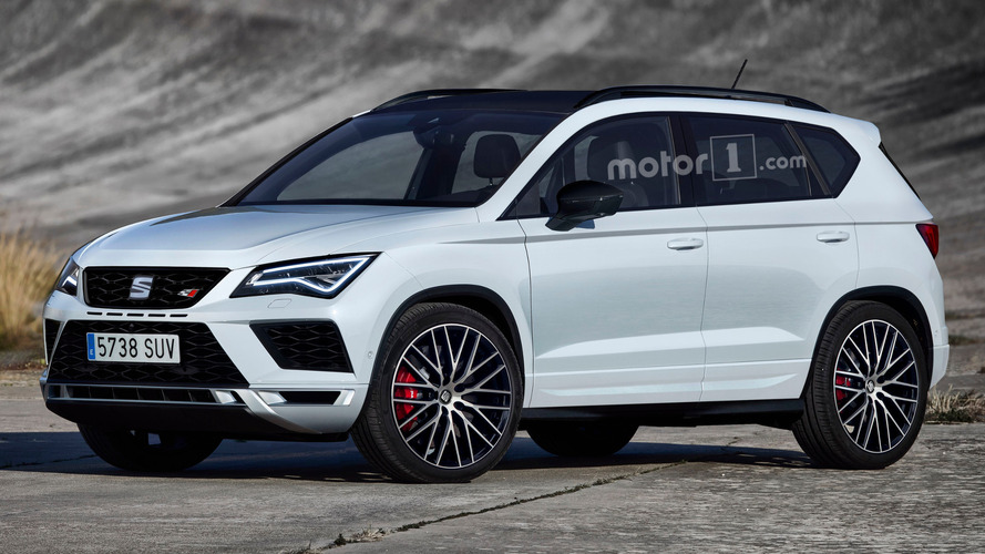 SEAT Ateca Cupra might look like this