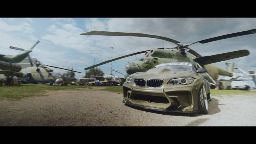 820 bg'lik BMW 2 Serisi drift aracı