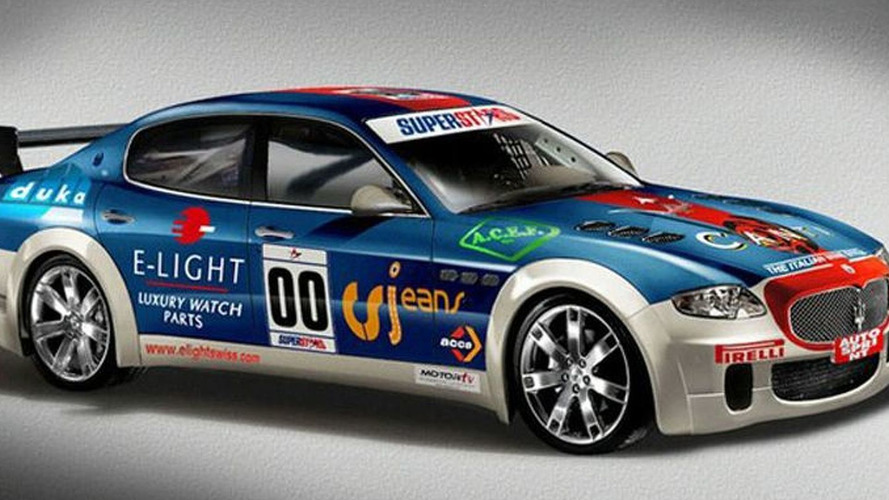 Maserati Quattroporte Race Car To Compete in Superstars Series