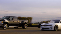 Chevy Silverado 3500HD Race Hauler