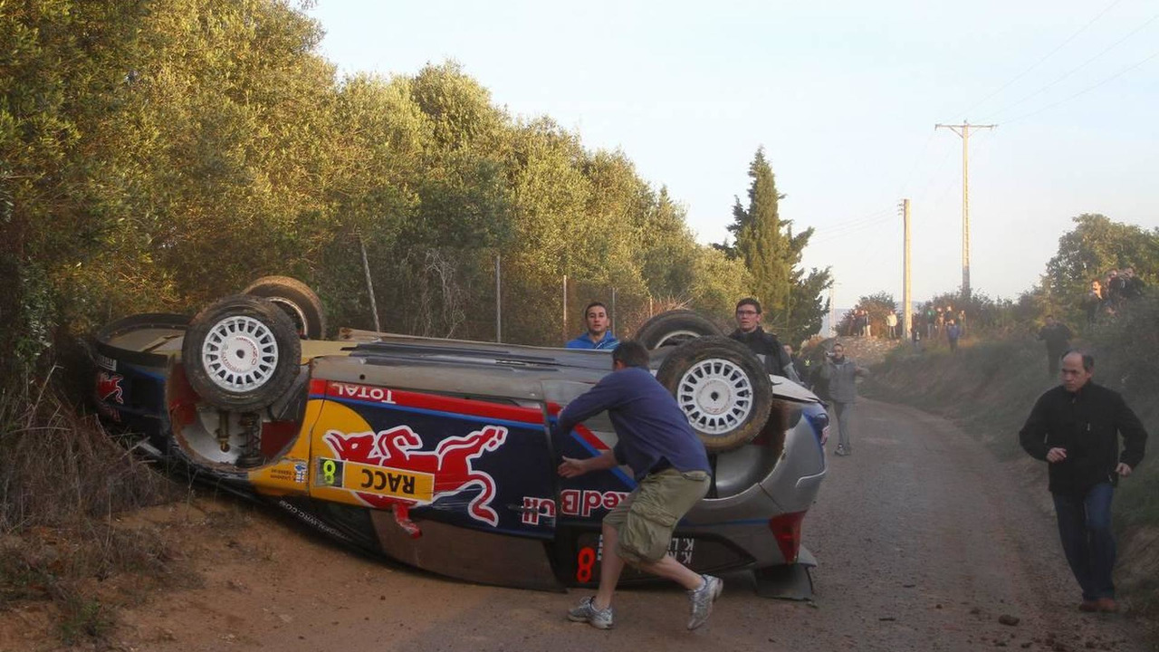 Kimi Raikkonen (FIN) Kaj Lindstrom (FIN), Citroen C4 WRC, Citroen Junior Team - Rally of Spain, World Rally Championship 2010, Rd 12, 24.10.2010 Spain