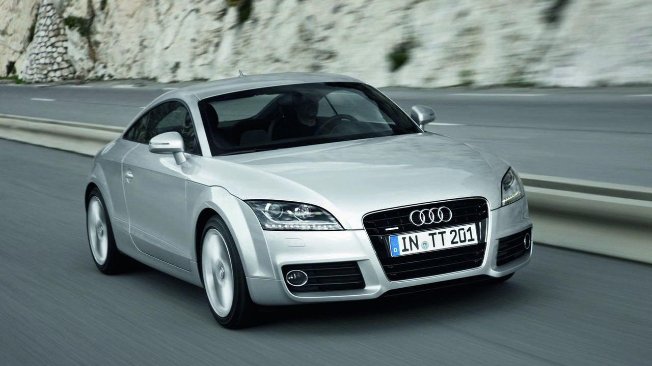 2011 Audi TT Coupe facelift first photos 08.04.2010
