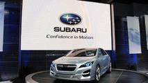 Subaru Impreza Design Concept live in Los Angeles 17.11.2010