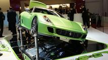 Ferrari 599 HY-KERS experimental vehicle live in Geneva 02.03.2010