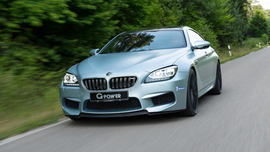 BMW M6 Gran Coupe dialed up to 740 PS by G-Power