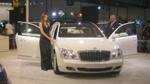 Maybach Landaulet Makes World Debut at Dubai Motor Show