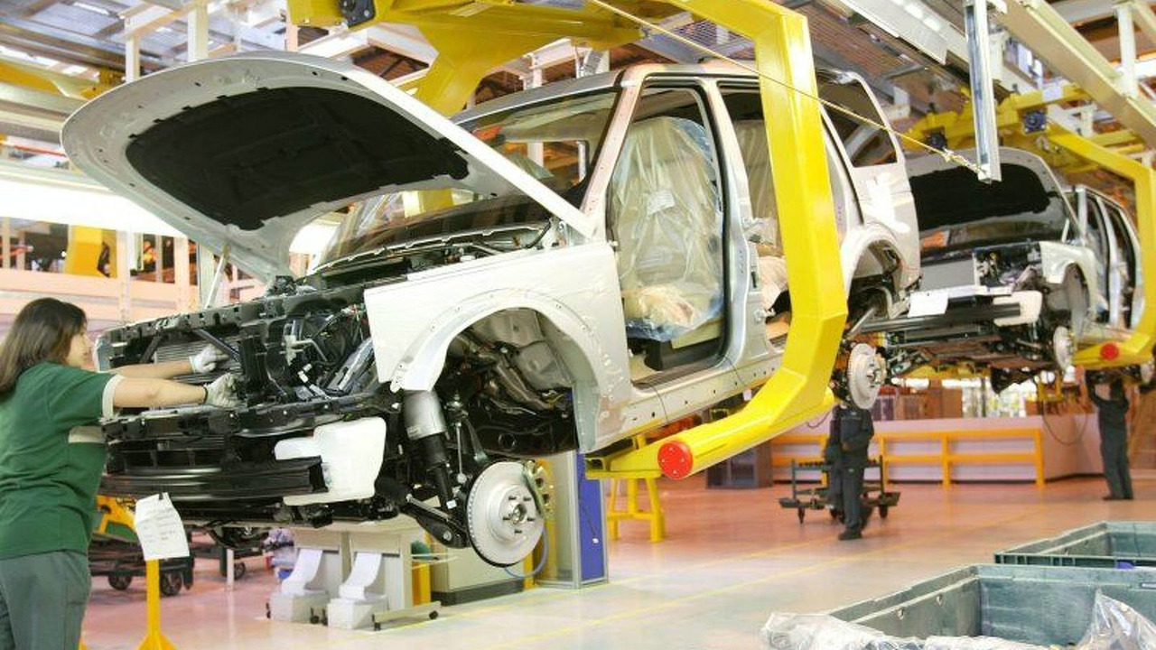 Land Rover Discovery 3 production