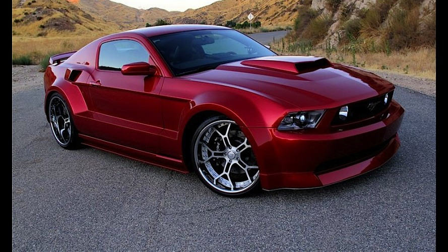 Ford Mustang GT Custom SPX/Galpin Widebody