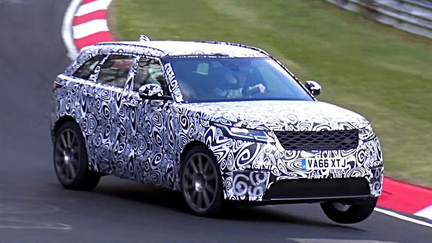 2019 Range Rover Velar SVR Spied Playing Its Raspy Soundtrack
