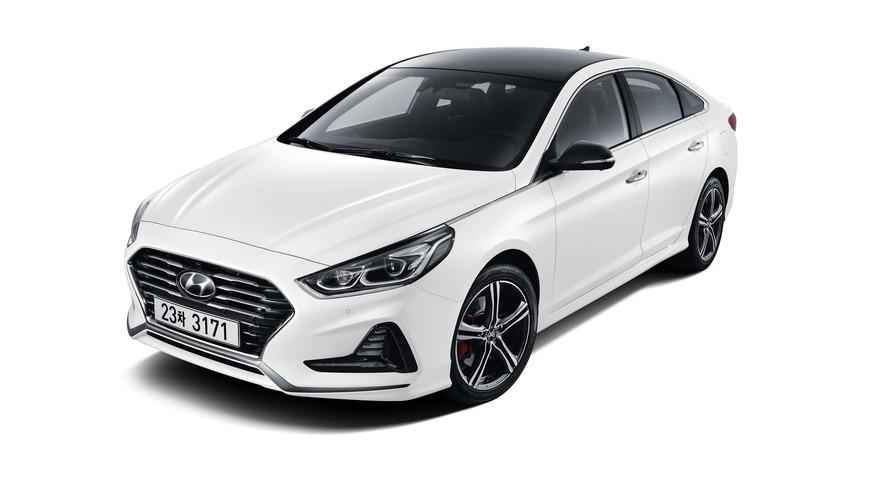 Hyundai Sonata facelift revealed in Korea