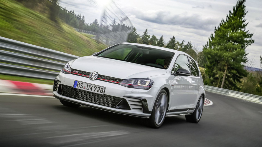 vw golf gti clubsport s unveiled as the fastest front. Black Bedroom Furniture Sets. Home Design Ideas