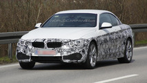 BMW 4-Series Convertible spy photo 18.04.2013