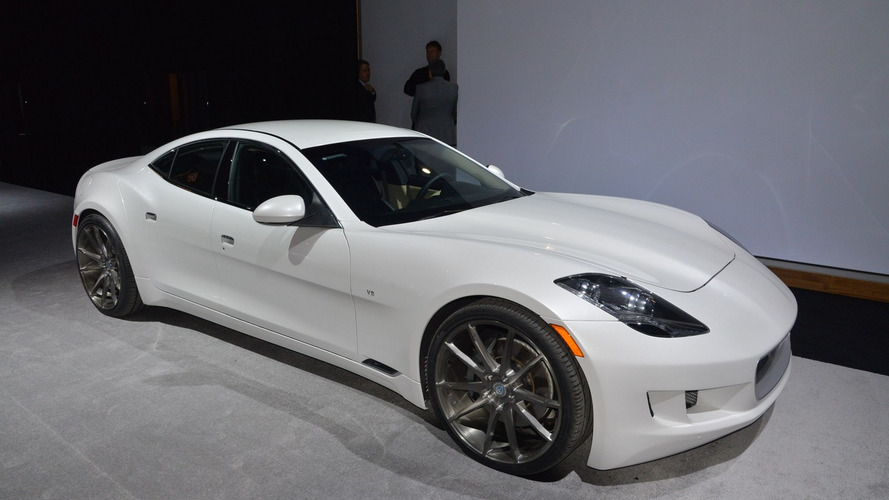 Updated Fisker Karma arrives in Detroit as supercharged VLF Destino [video]