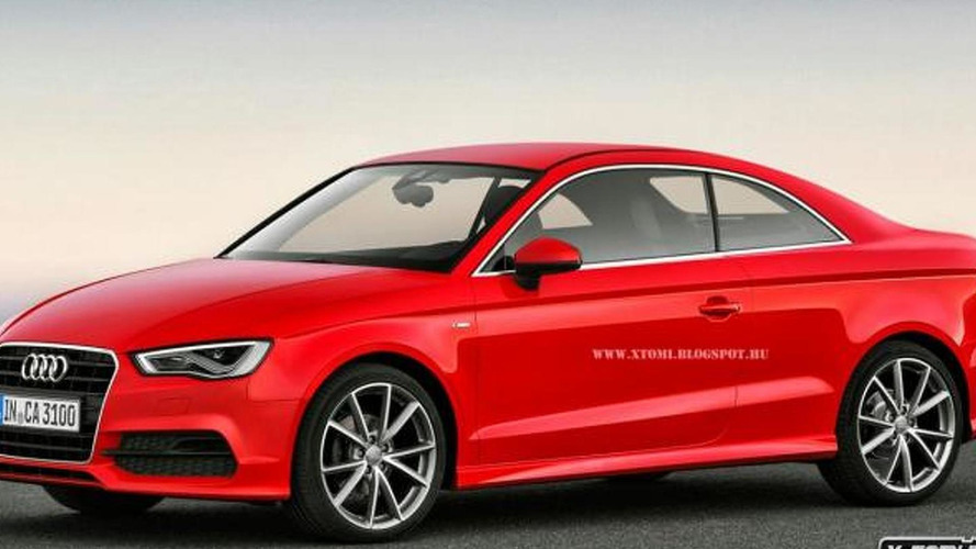 Audi A3 Coupe gets rendered