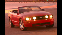 Ungedeckter Mustang