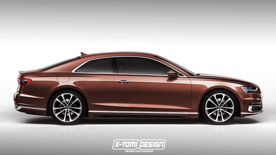 Illustrations Audi A8 Coupé, Avant, S8 et RS 8