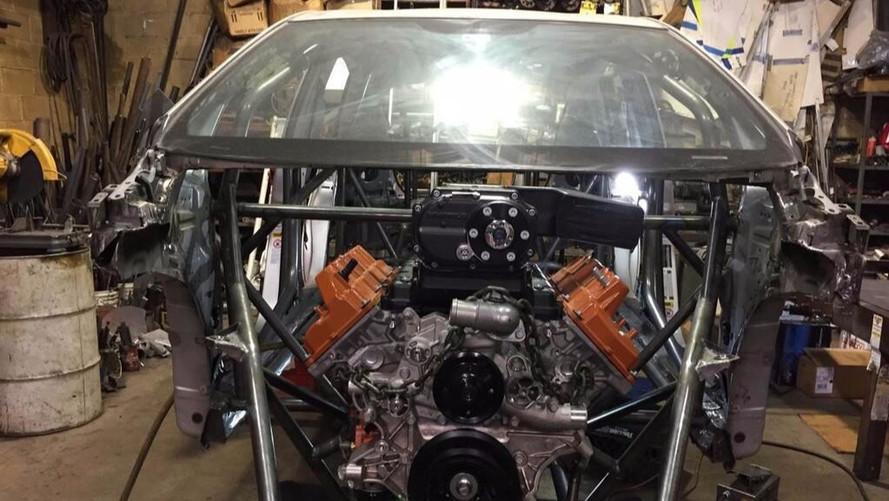 Hellcat Powered Prius PriuSRT8 By American Racing Headers