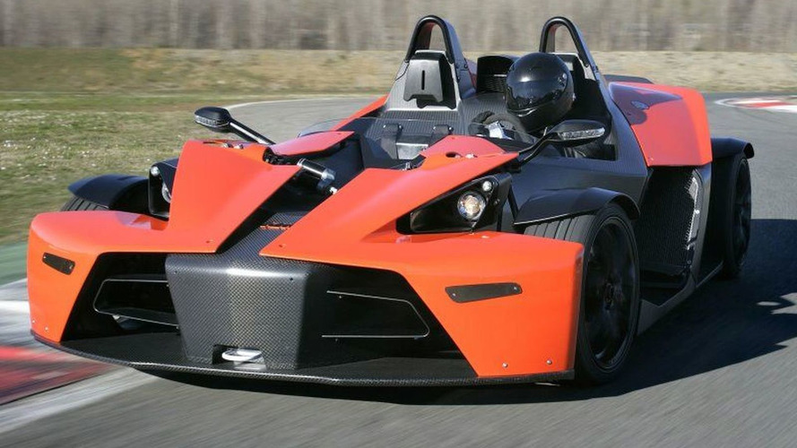 KTM X-Bow fires its bolt to North American in 2017
