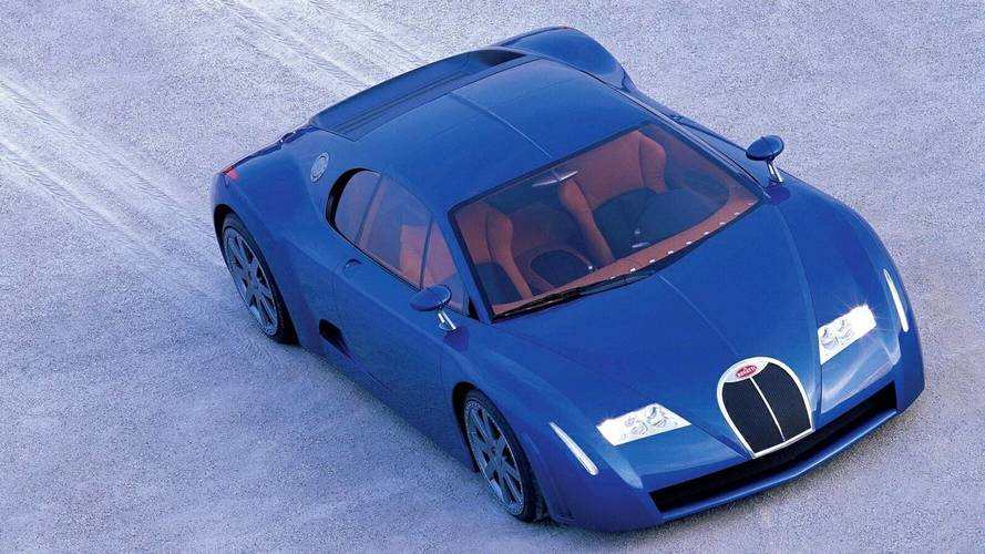 1999 Bugatti 18/3 Chiron: Concept We Forgot