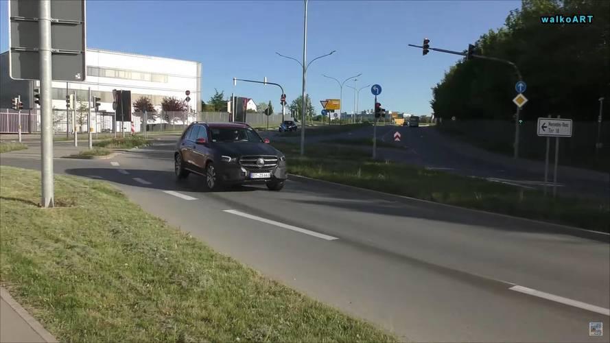 2019 Mercedes GLE Az Kamuflajlı Hali