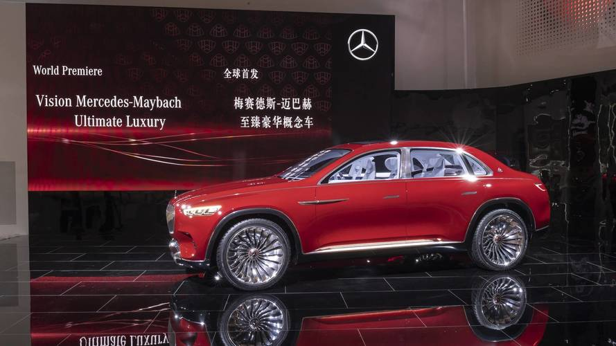 Maybach Vision Ultimate Luxury is automotive bling