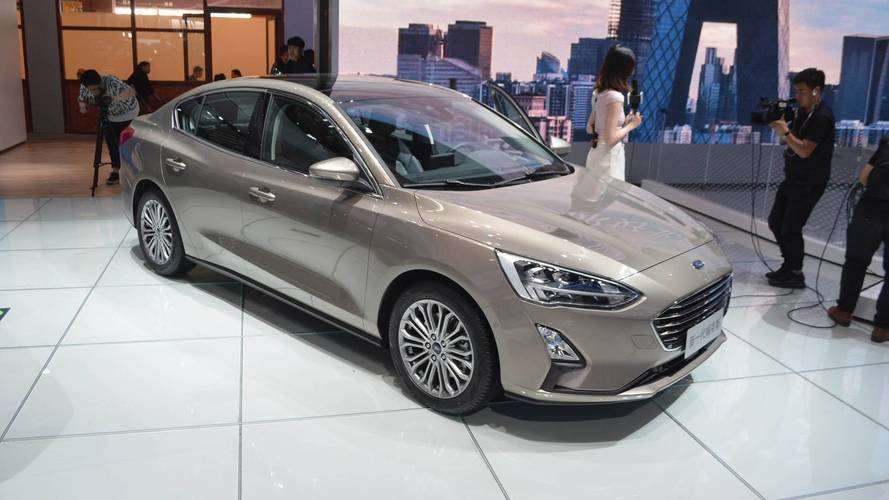 2019 Ford Focus Live From Beijing