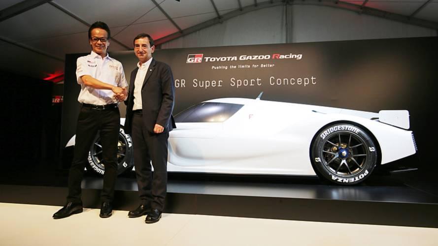Toyota GR Super Sport Concept, la presentazione a Le Mans