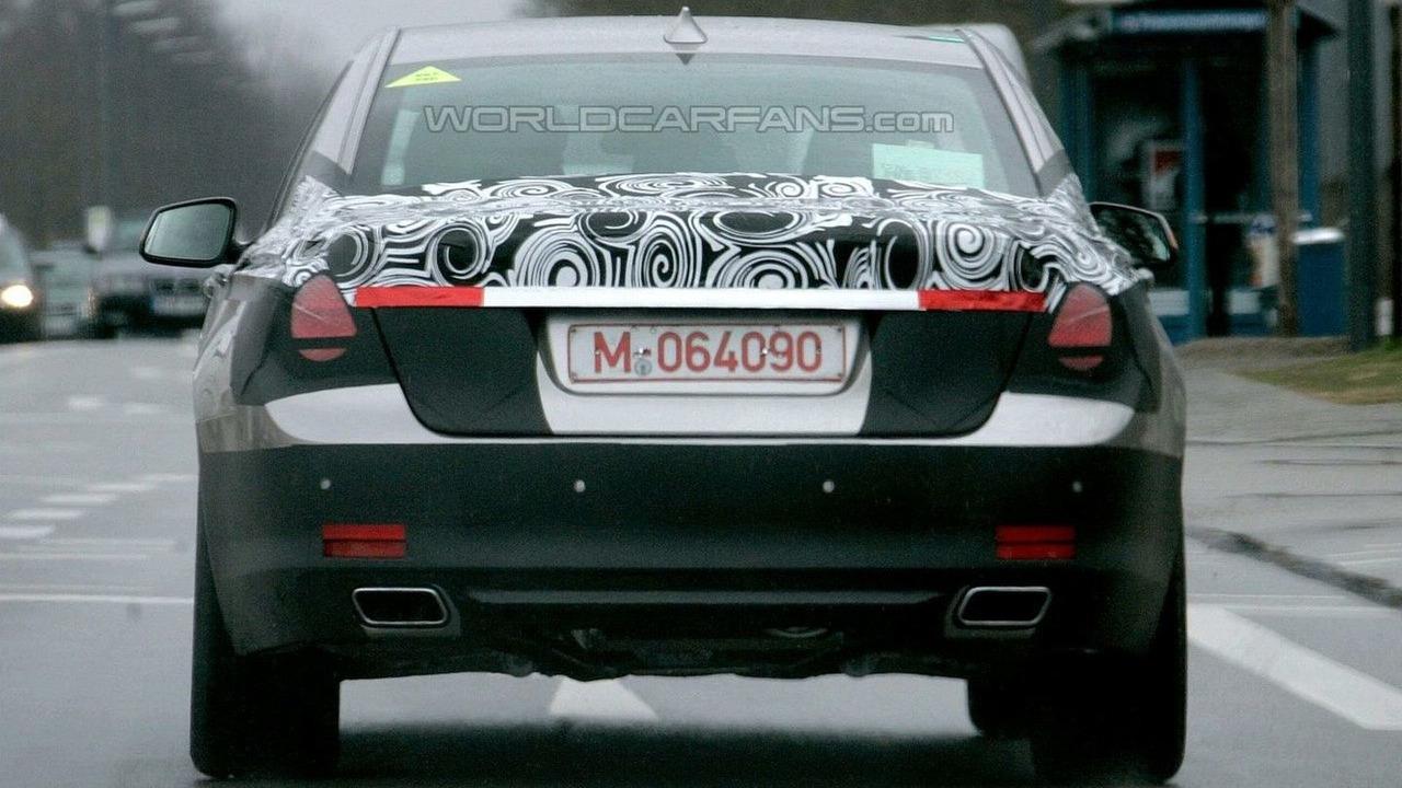 BMW 7 Series Spy Photo