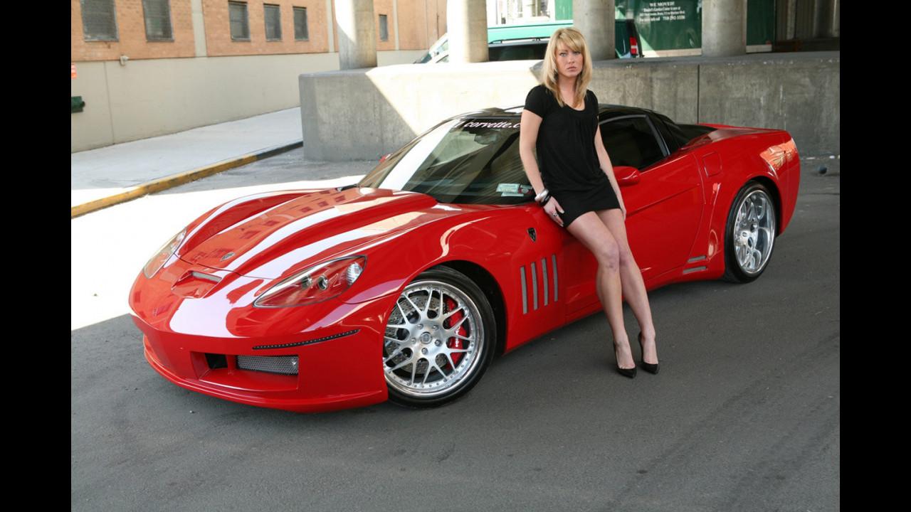 Corvette ZX-1 Supercharged V8 by Karvajal Designs