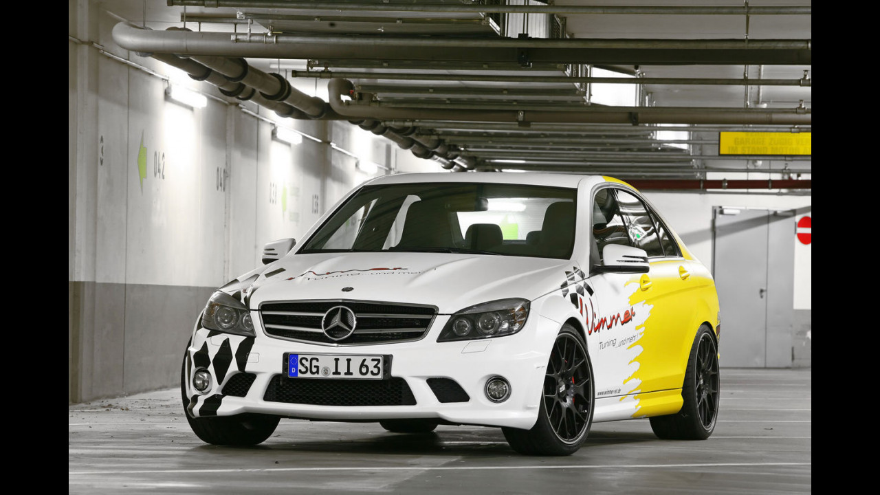 Mercedes C63 AMG Performance by Wimmer RS