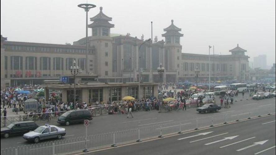 Auto a metano, Cina in pole position
