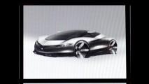 Vazamento de esboço aponta interesse da Yamaha no segmento de automóveis