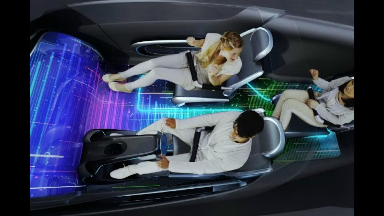 VÍDEO: Concept car da Toyota pode ter cor alterada pelo usuário