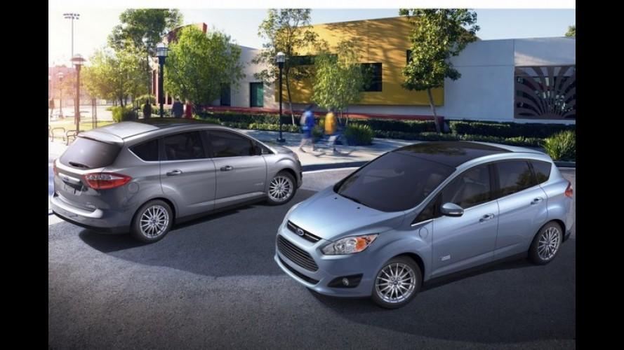 Ford revela os novos C-Max híbrido e híbrido plug-in
