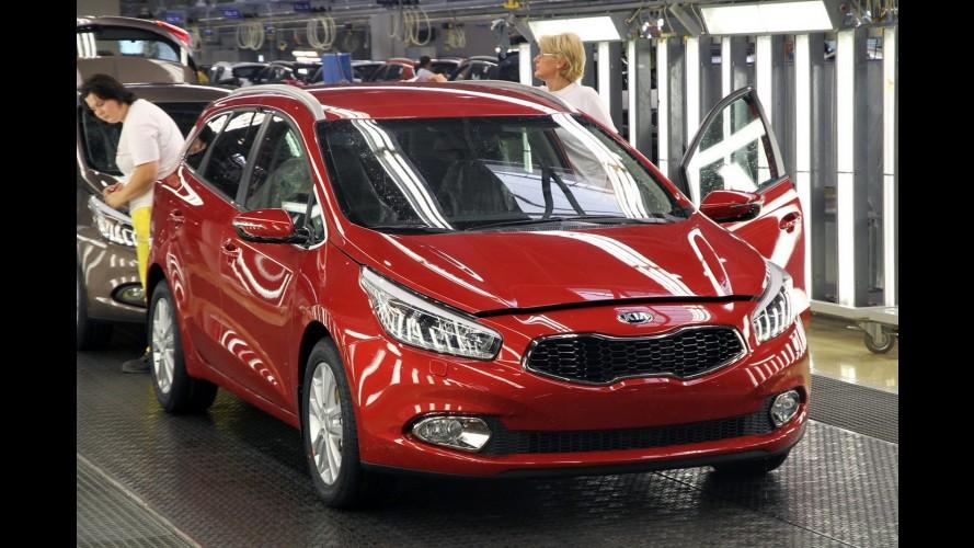 Kia inicia produção da perua Cee'd Sportswagon em fábrica na Eslováquia