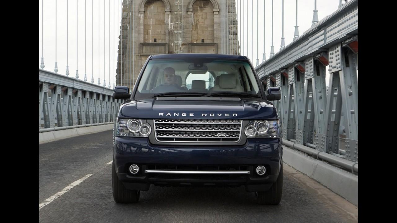 Range Rover Evoque chega ao Brasil em outubro - Range Rover ganha novo motor V8