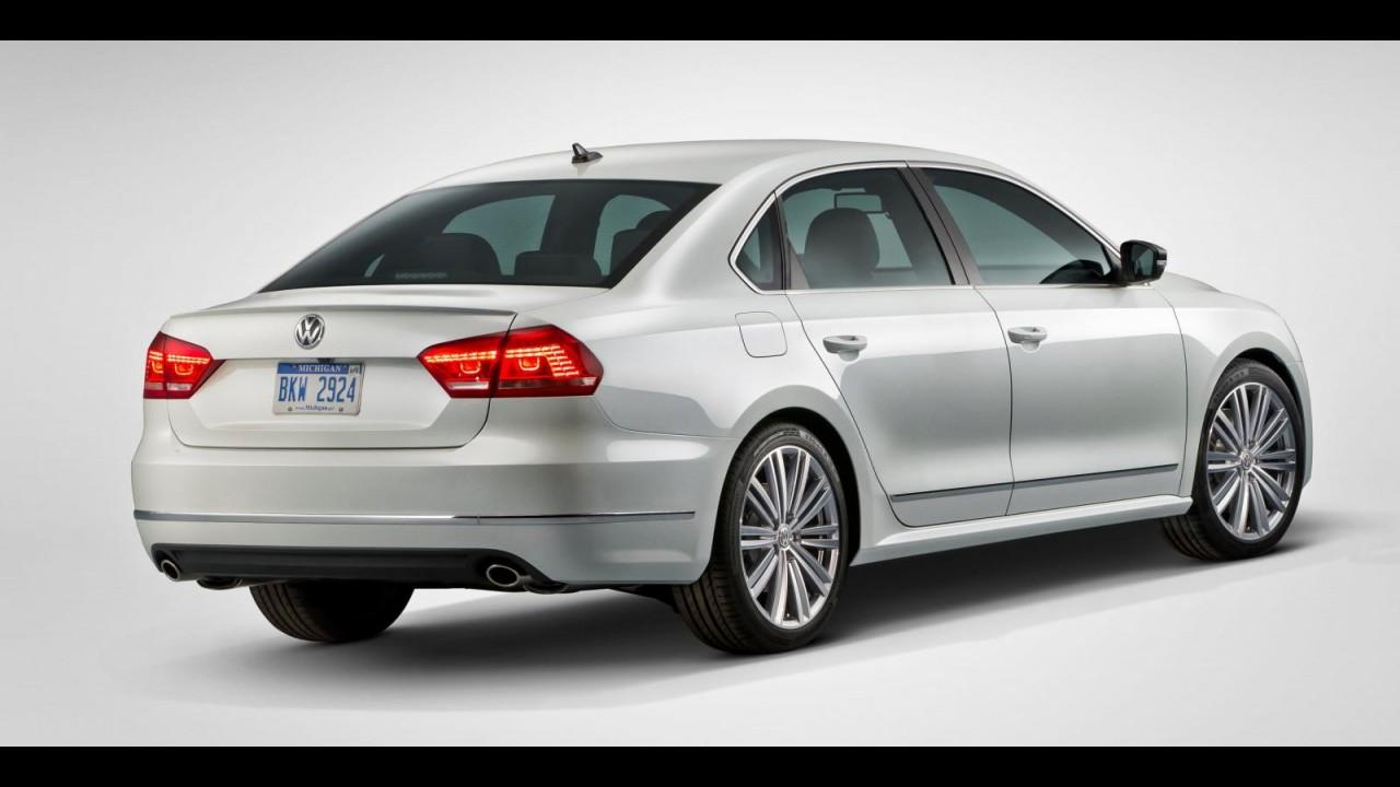 Volkswagen Passat Performance Concept é mais uma atração da marca para Detroit